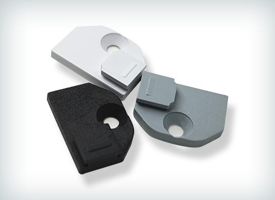 sensuna flachtr ger f r die montage auf schmalen glasleisten. Black Bedroom Furniture Sets. Home Design Ideas