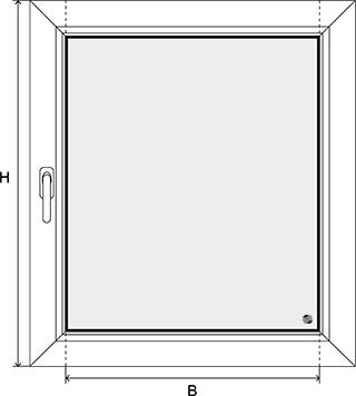 Fensterflügel ausmessen